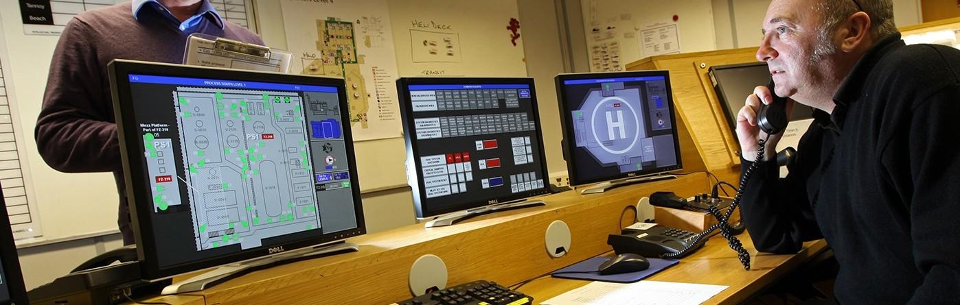 Control room simulator
